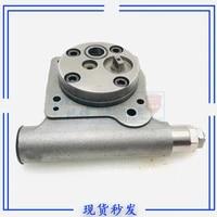 free shipping excavator hydraulic pump pilot pump gear pump oil pump assembly accessories tail pump for komatsu 60 7 pc75uu