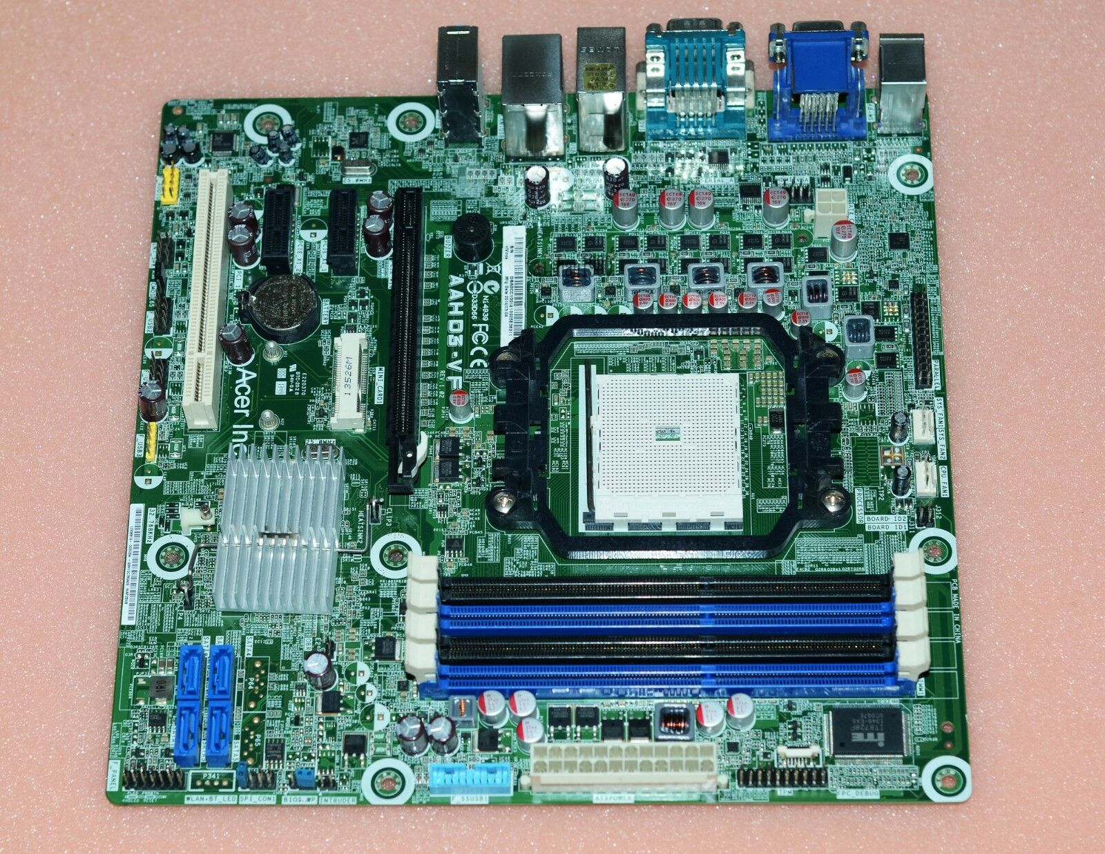 For Acer AAHD3-VF motherboard Socket FM2 DDR3 AMD A75 100% test