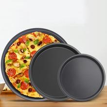 6/7/8/10 polegadas antiaderente pizza pan placa bandeja prato molde bakeware ferramenta de cozimento