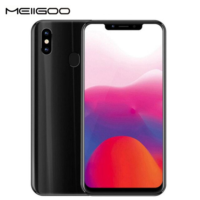 "MEIIGOO S9 teléfono móvil 4GB RAM 32GB ROM MTK6750T Octa Core 6,18 ""FHD Android 8,1 de 5000mAh 4G LTE 13MP cara de Smartphone"