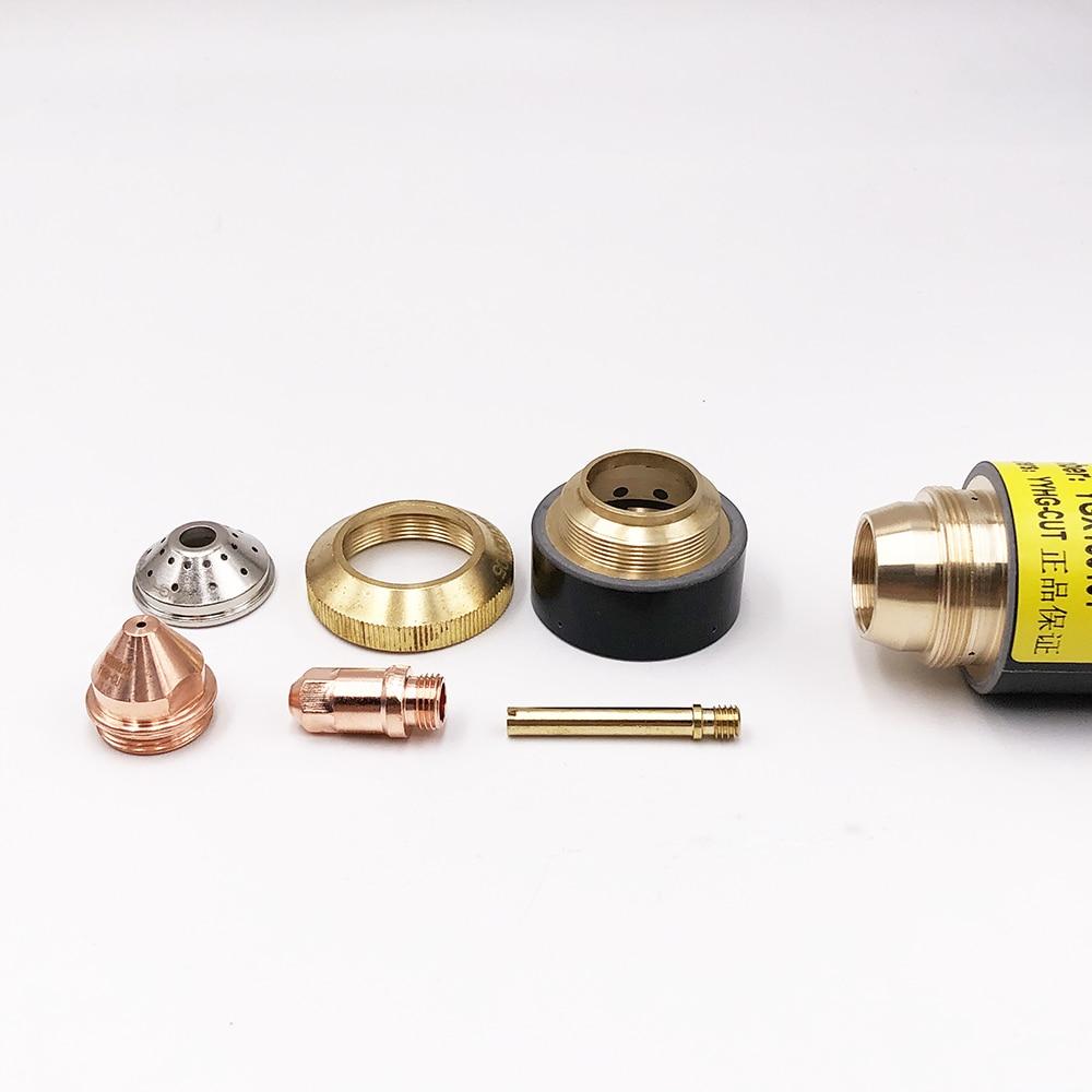 YGX-100 YK-100 YGX100A torch consumables   50pcs nozzle and 50pcs electrode