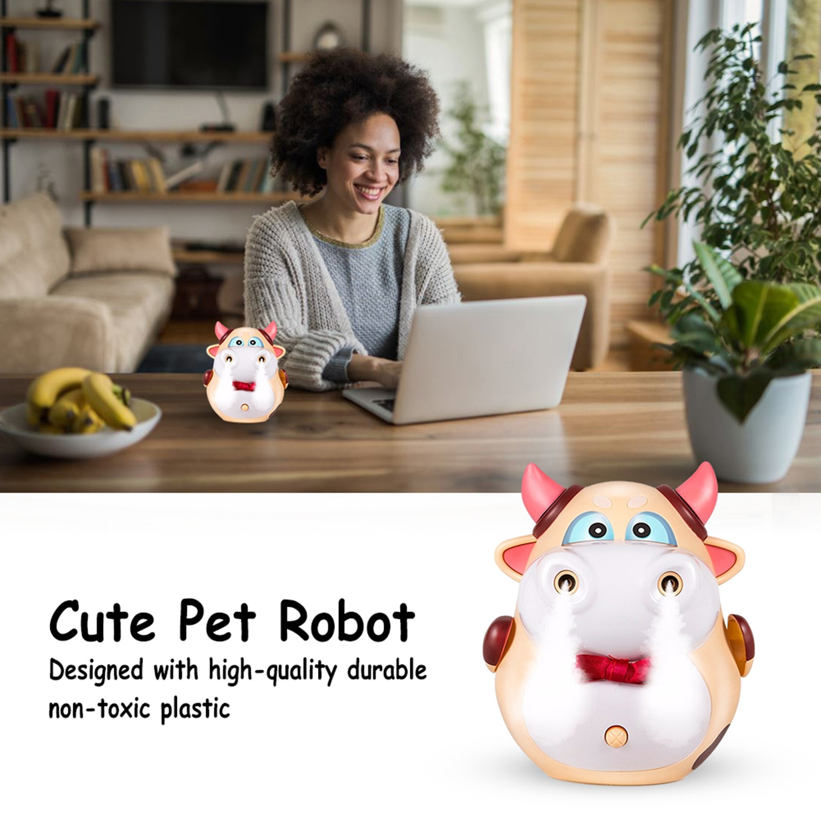 Niu Mengmeng Educational Toys Stunt Spray Electric Smart Cute Pet Robot Children's New Year Gift
