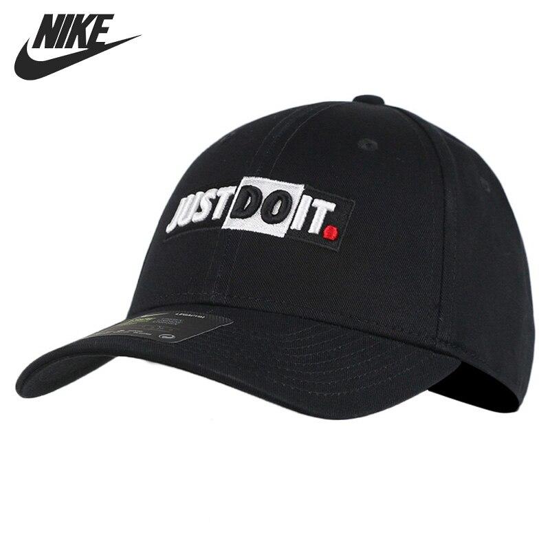 Oryginalny nowy nabytek NIKE U NSW L91 czapka JDI + blok baseballowy Unisex czapki sportowe odzież sportowa