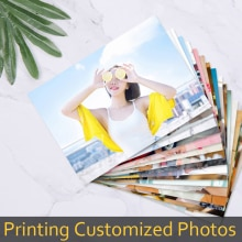 100pcs Customized Printing Your Photos Kids Baby Stars Landscape Photos Pictures Print Important Mom