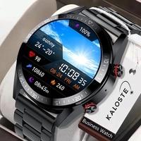 Новинка 2021, Смарт-часы с экраном 454*454, мужские Смарт-часы с поддержкой Bluetooth, звонков и локальной музыки для телефона Huawei, Xiaomi