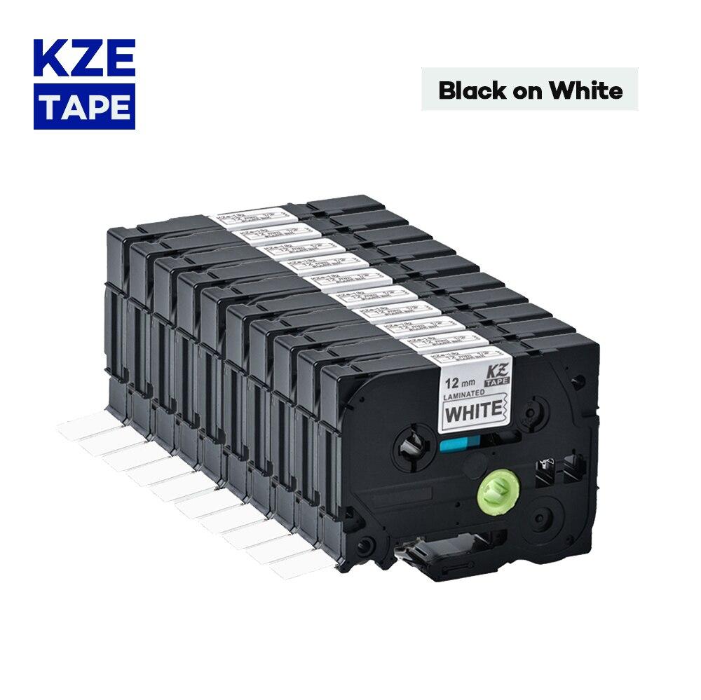 60 قطعة متوافق التسمية ف اتصال طابعة الأسود على الأبيض تسمية الشريط Tze-231 تسمية الشريط تزي الشريط Tze-231 Tze231 تزي 231 tze231