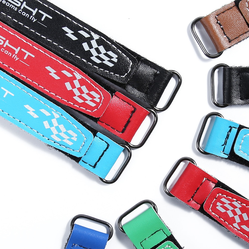 5PCS IFlight Microfiber Leather Battery Strap 100mm 130mm 150mm 200mm 250mm for RC FPV Racing Freest