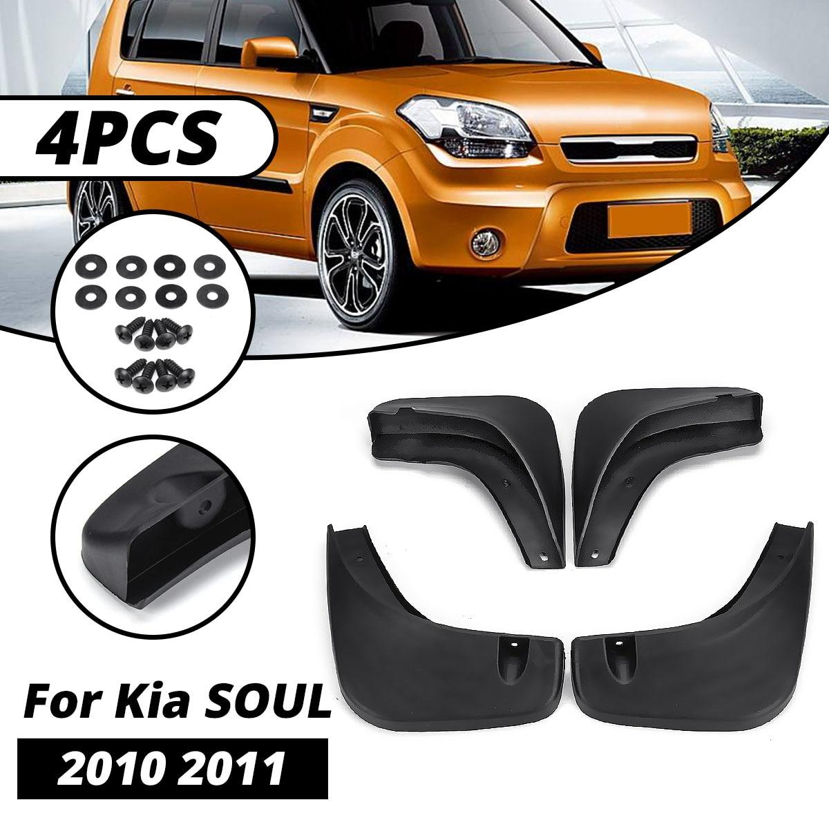 Для Kia Soul 2010 2011 2012 Автомобильные Брызговики крыло брызговики автоматические Брызговики аксессуары для брызговиков
