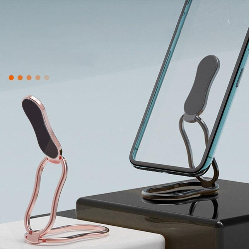 Подставка-кольцо для сотового телефона, универсальная подставка 2 в 1 с вращением на 360 градусов для автомобильного телефона