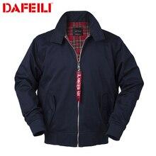 Vintage cotton golf jacket sports waterproof windbreaker brand for men clothes outdoor jacket navy sportswear black