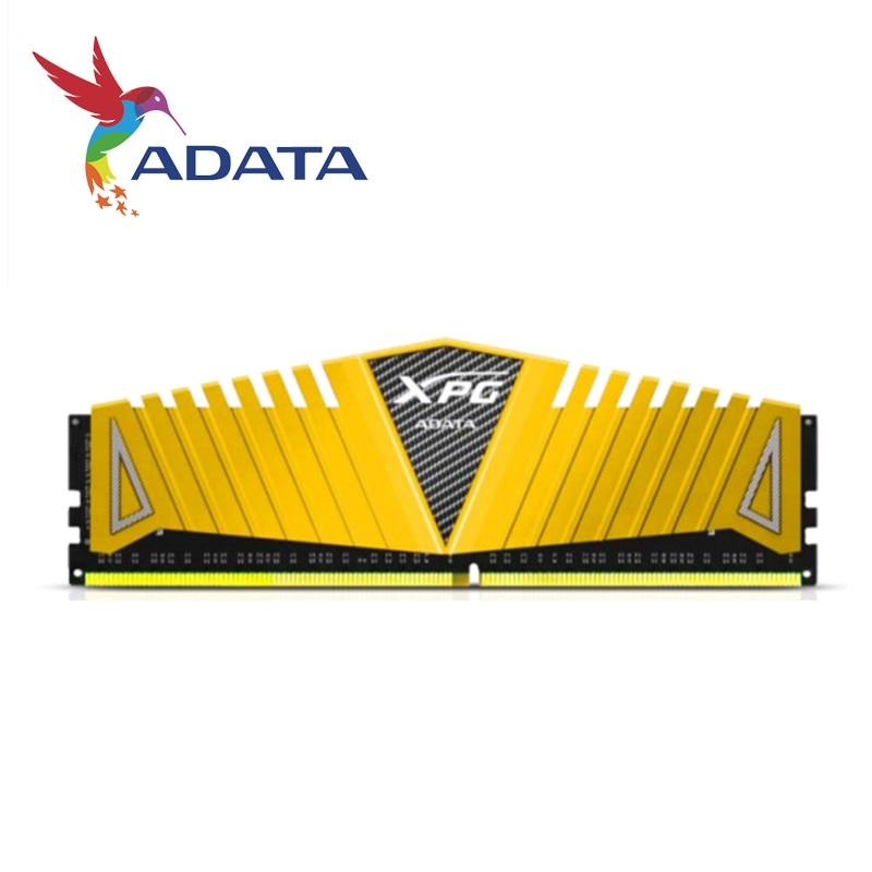 ADATA-بطاقة ذاكرة سطح المكتب ، طراز XPG Z1 ، ذاكرة وصول عشوائي DDR4 ، سعة 8 جيجابايت ، 16 جيجابايت ، 32 جيجابايت ، 3000 ميجاهرتز ، 3200 ميجاهرتز ، 3600 ميجاهرتز...