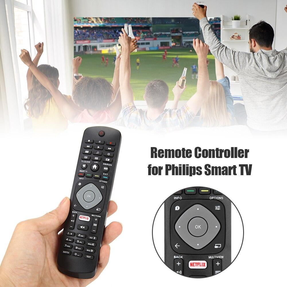 Substituição de controle remoto casa quarto televisão decoração para philips app smart tv com netflix hof16h303gpd24