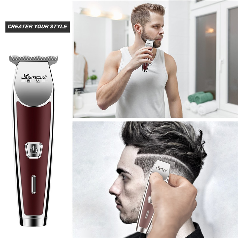 Professional Barber Electric Hair Clipper Rechargeable Hair Trimmer for Men Hair Cutting Machine Shaving Beard Electric Razor enlarge