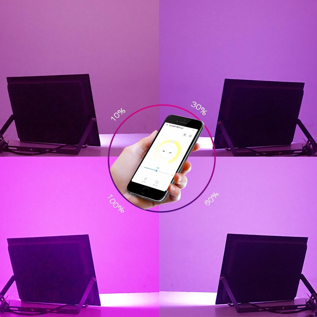 Waterproof Led UV GEL Curing Lamp Fixture Voice Dimming Ultraviolet Light Cure Oil Printing Machine Ink Silk Screen 3D Printer enlarge