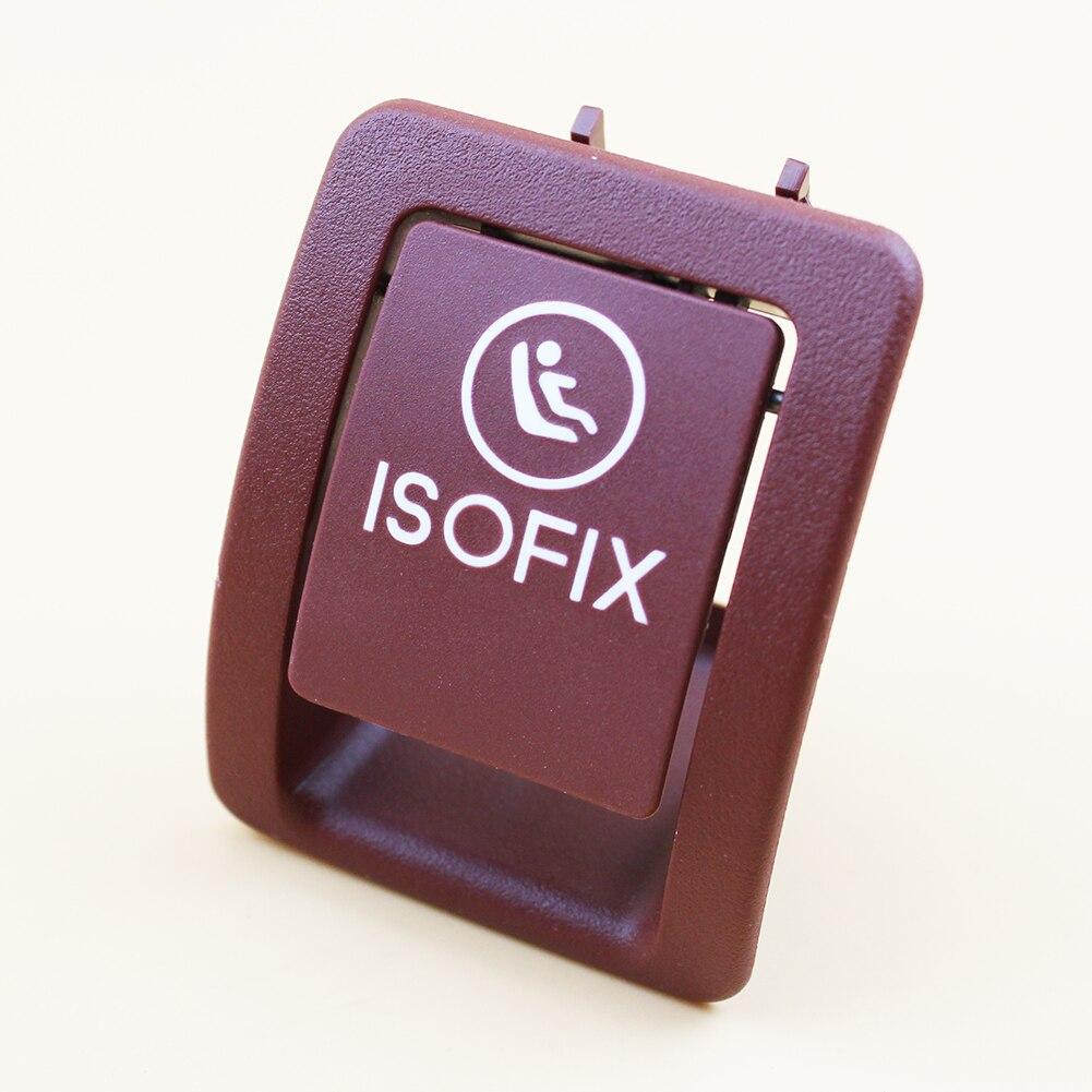 Estilo de coche rojo ISOFIX cubierta A2059200513 para Mercedes-Benz Clase C W205 C300 C350 C200 C180 205 920 05 13