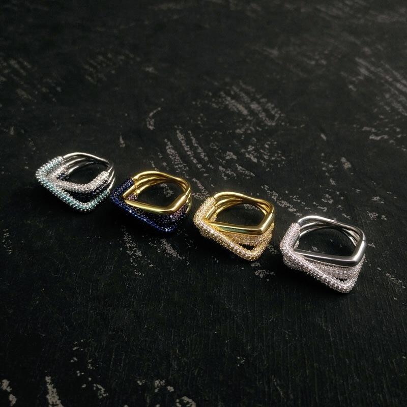 Женское-прямоугольное-кольцо-серебристое-кольцо-с-темно-синим-озерным-синим-переплетением-новинка-100