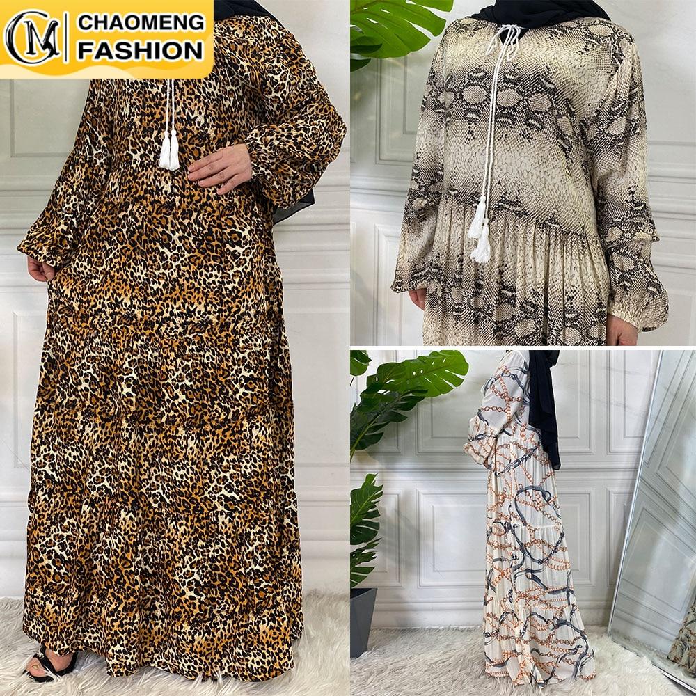 عبايات-ملابس إسلامية مطبوعة بالزهور ، حجاب ماكسي للنساء المسلمات ، قفطان بنجلاديش ، لباس تركي