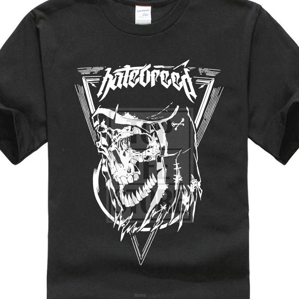 Hatebreed sinner t camisa s m l xl 2xl nova marca oficial t camisa 100% algodão kawaii para o menino