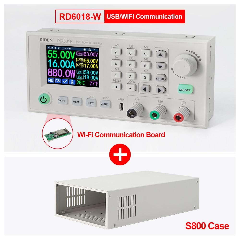 RD RD6018 RD6018W USB WiFi DC-DC Voltage Step Down Power Supply Module Buck Converter Voltmeter Mult