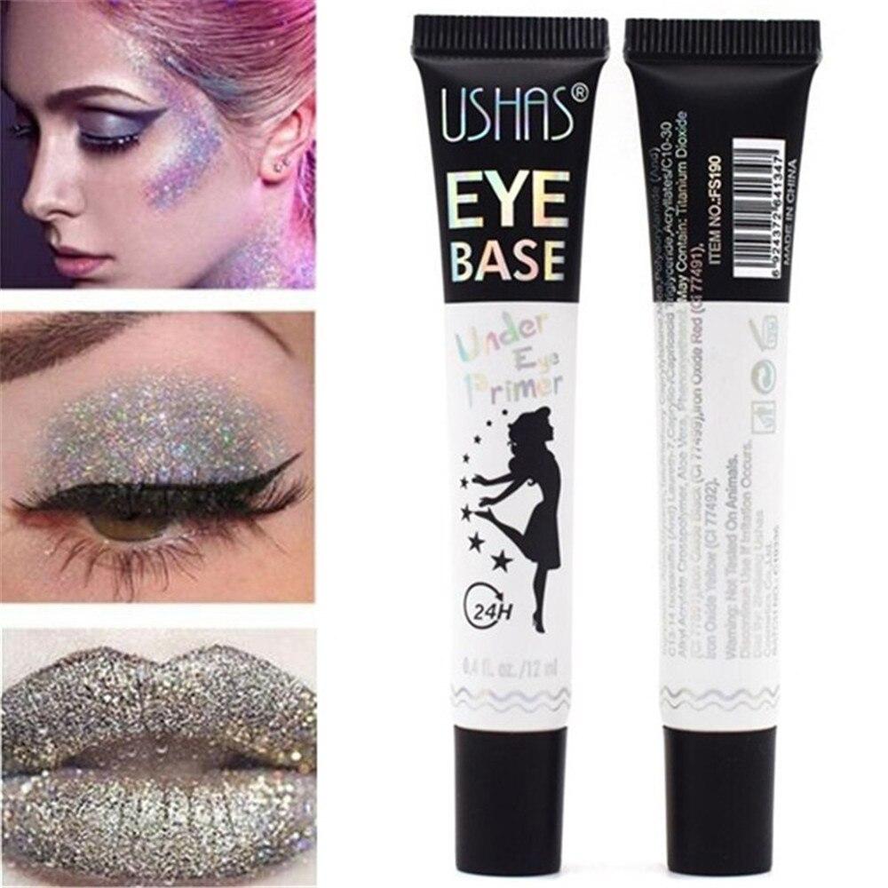Olho primer matte natural compõem fundação base de maquiagem facial pele óleo-controle cosméticos olhos luz leite creme textura cosméticos