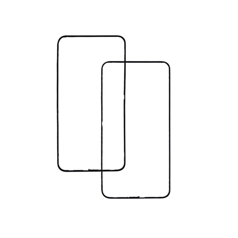 Nuevo para Huawei Honor 8X bisel frontal LCD soporte medio marco placa frontal bisel marco frontal Reparación de piezas de repuesto
