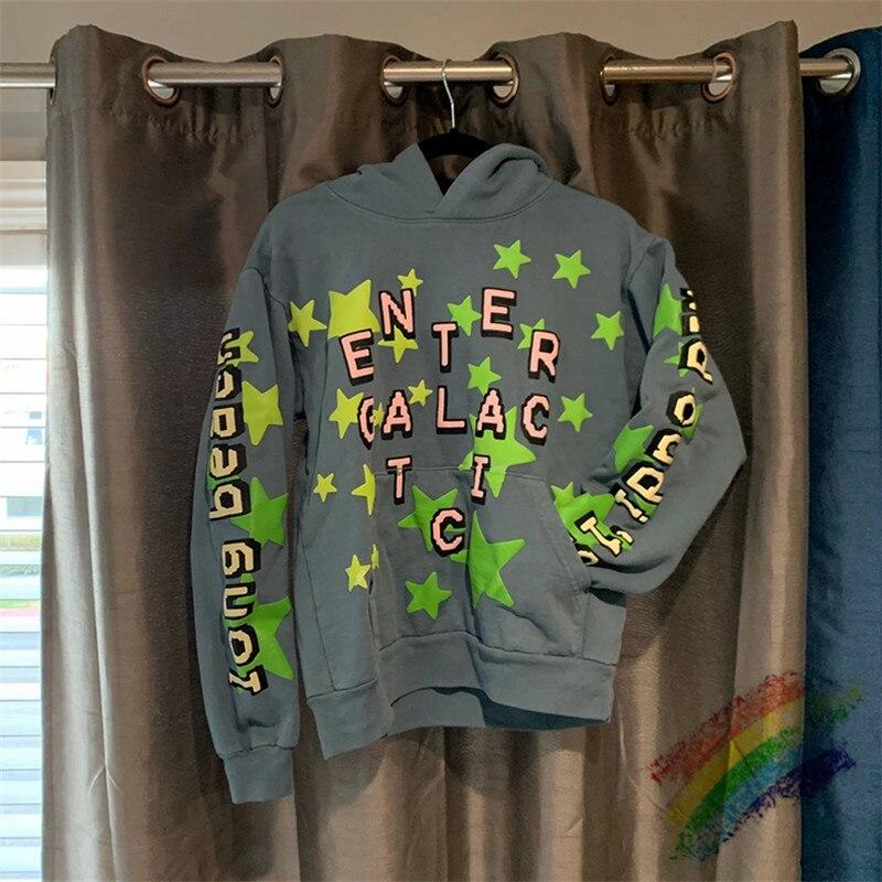 Reflective Cactus Plant Flea Market Kid Cudi Enter Galactic Hoodie Hooded Men Women 11 Best-Quality CPFM.XYZ Pullover