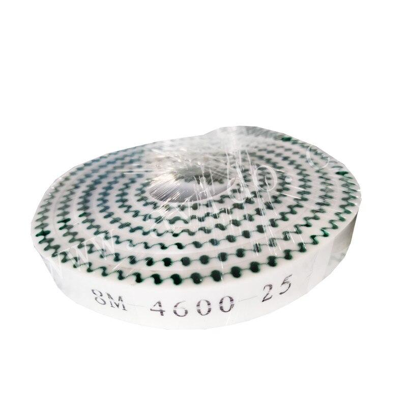 Correa de distribución personalizada resistente al desgaste con revestimiento de goma PU
