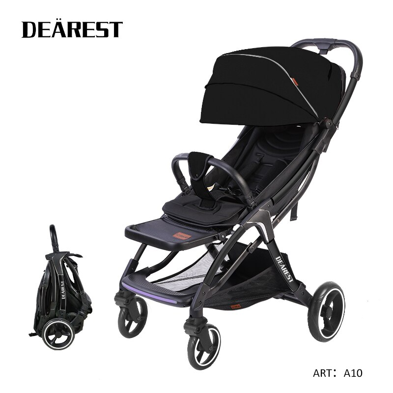 DEAREST A10 Stroller 5.5kg Light Portable Stroller Travel Europe First for 2021 New Style enlarge