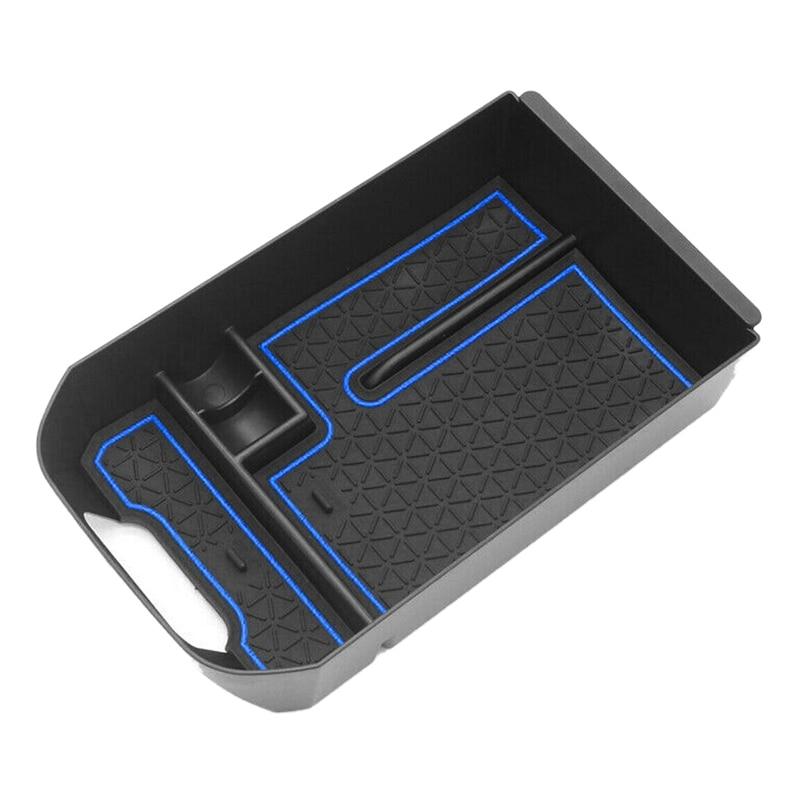 for Toyota RAV4 2019 2020 Car Center Console Armrest Storage Box Tray Organizer Anti-Slip Mats
