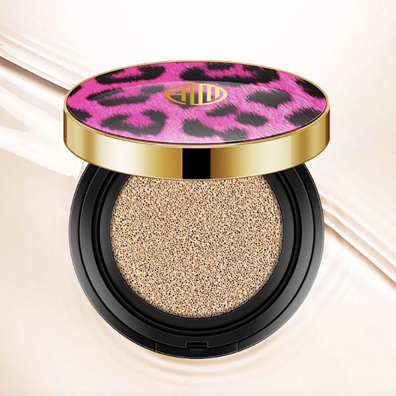 Cojín de aire Natural BB CC crema Air Cushion corrector hidratante para blanqueamiento Nude base maquillaje belleza facial
