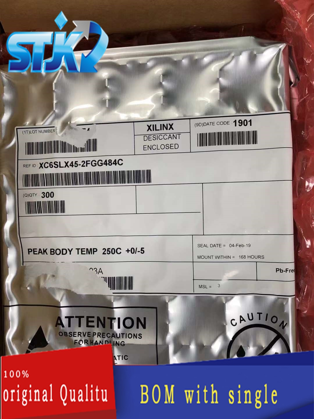 IC XC6SLX45-2FGG484C BGA DC2021+ Interface - serializer, solution series   New original Not only sales and recycling chip 1PCS