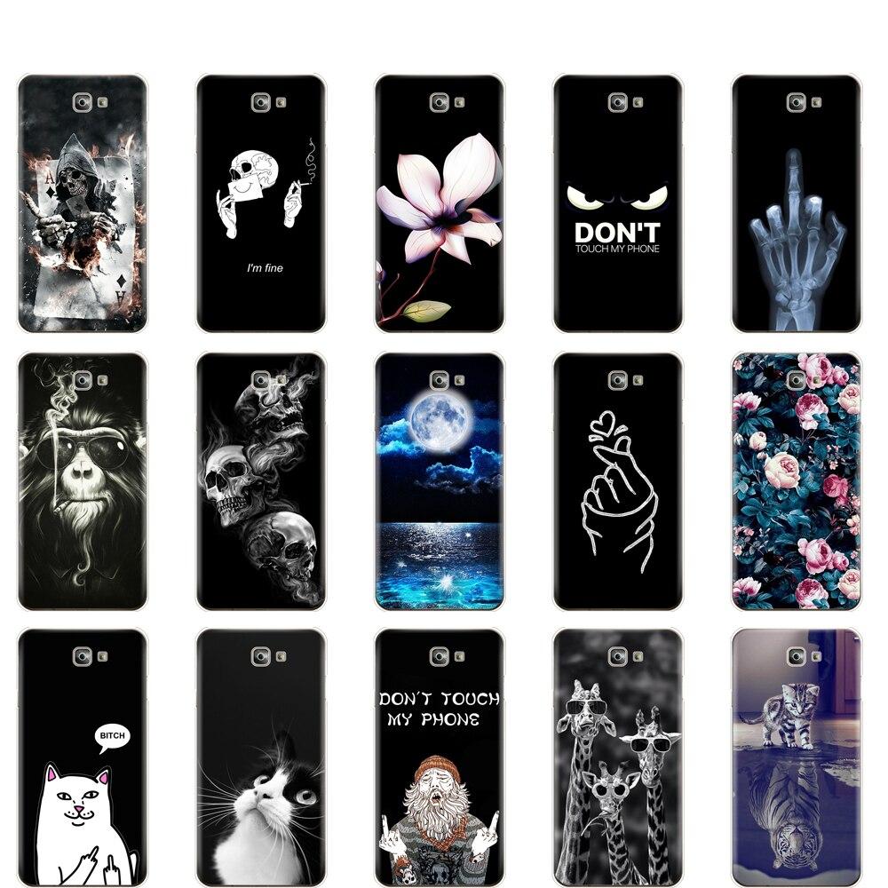 Para Samsung J7 Primer caso suave de silicona TPU caja del teléfono para Samsung Galaxy J7 Primer Caso J7 Prime2 cubierta G611 G611F 2018 de 5,5 pulgadas