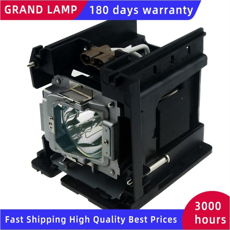 5811116765-SU استبدال مصباح مع السكن ل VIVITEK D5000U D-5180HD D-5185HD D4500 180 أيام الضمان Happybate D-5280U
