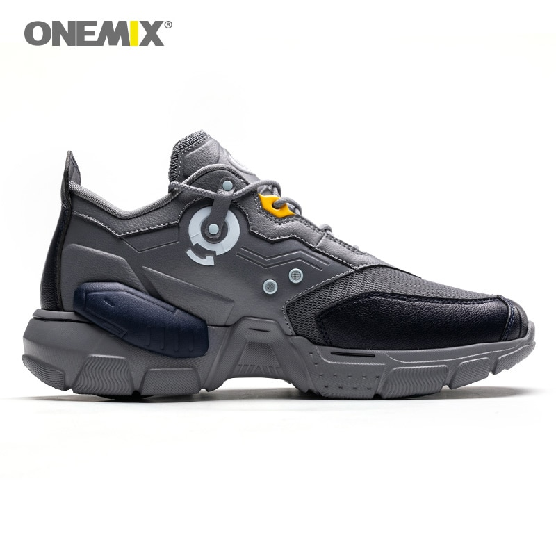 Купить с кэшбэком ONEMIX Super Men Sneakers Technology Trend Damping Boy Basketball Sport Shoes Athletic Trainers Casual Running Shoes Jogging