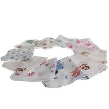 2020 nuevo bebé infantil 28*28cm muselina toalla pañuelos dos capas limpiar toalla 10 unids/pack MAR1_30