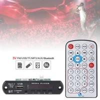 5v 1080p wireless audio decoder board support wav mp3 decoders with stereo tf card u disk for family car home dvd