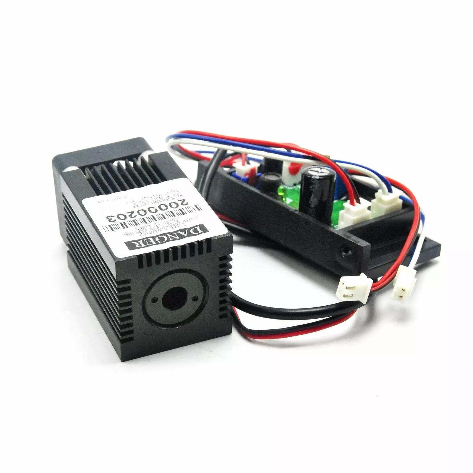 Фокусируемый 450 нм 400 мВт синий лазер 33% 2A50 мм точка точка модуль