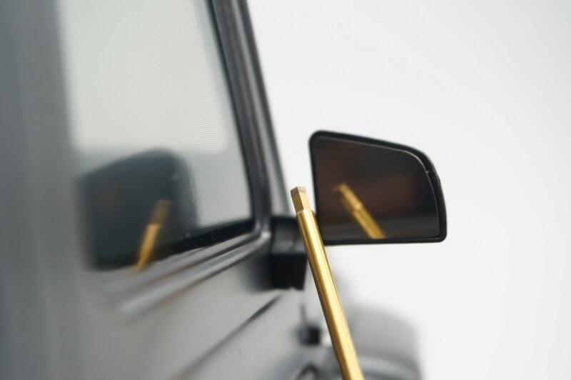 Espejo de decoración para Traxxas trx6 G63 6x6 rc coche de juguete