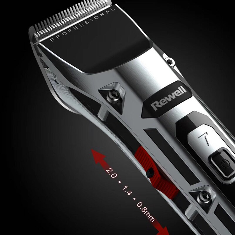 Professional Hair Clipper Electric Hair Trimmer Cordless Shaver Trimmer 0.1mm Men Adjustable Hair Cutting Machine 100-240v F28 enlarge