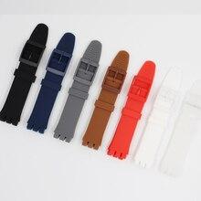 MR NENG cinturino di Ricambio Nero Rosso Navy watch band strap per Campione di cinghia di 17 millimetri e 19 millimetri 20 millimetri di alta qualità Per Offerta Speciale