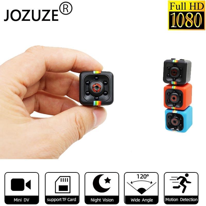 JOZUZE sq11 Mini Camera HD 1080P Night Vision Camcorder Motion Detection DVR Micro Camera Sport DV V