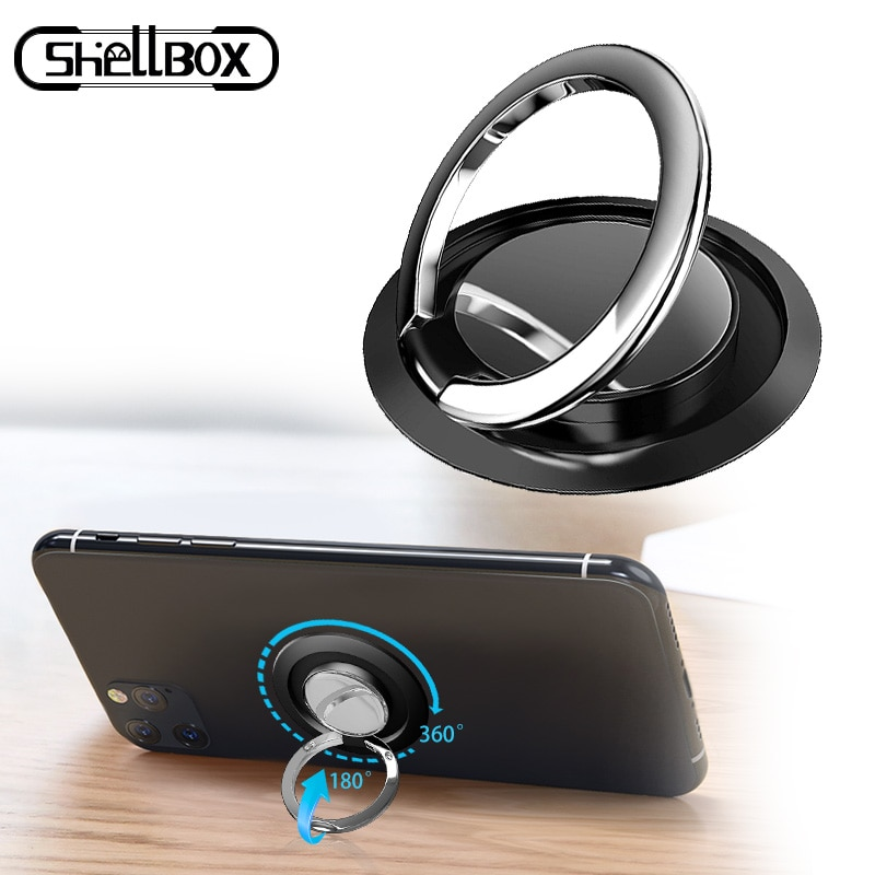 Mobile Phone Ring Holder Smartphone Stand Support Accessories Smart Round Phone Finger Stand Socket