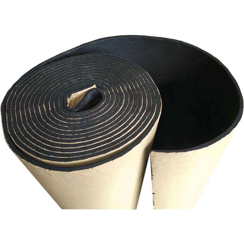 Gomaespuma fonoabsorbente para aislamiento acústico de furgoneta, de 30x50cm, de caucho negro, a prueba de fuego, aislamiento No contaminación, accesorios de amortiguación