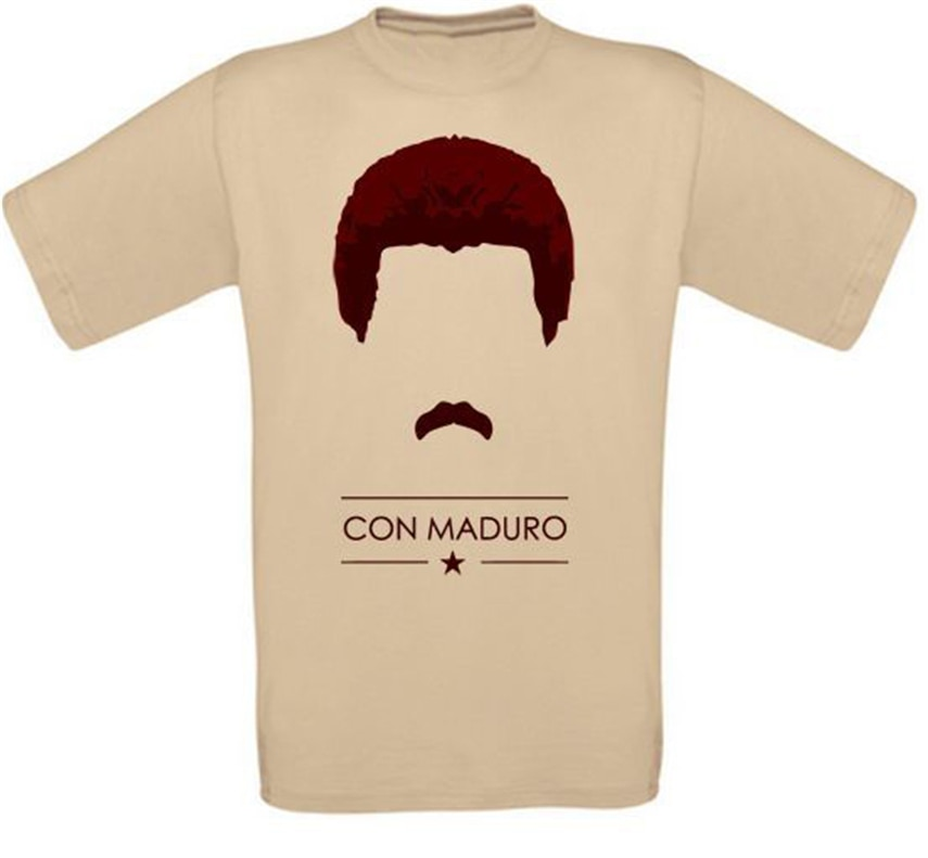Nicolás maduro Chavez Venezuela Sozialismus Revolução T-Shirt Größen Alle Neu Homme Personalizado Camiseta