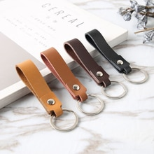 New Genuine Leather Keychain Holder Pocket For Car Keys Wallet Clip Ring Women Men Handmade Handbags