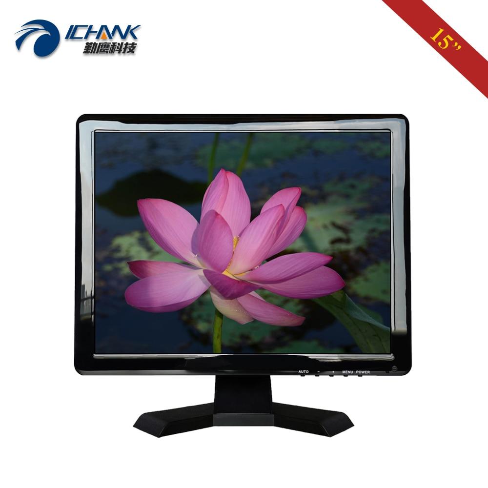 "ZB150JN-58/15 ""pulgadas 1024x768 VGA HDMI POS caja registradora ordenar máquina VESA 75x75mm montaje en pared PC Monitor LCD pantalla"