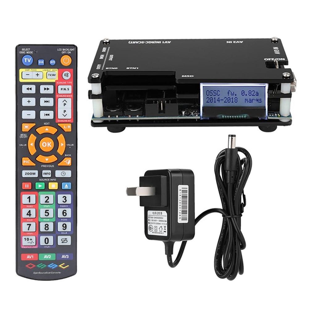 OSSC-Kit convertidor compatible con HDMI para consolas Retro, PS1, 2, Xbox, Sega,...