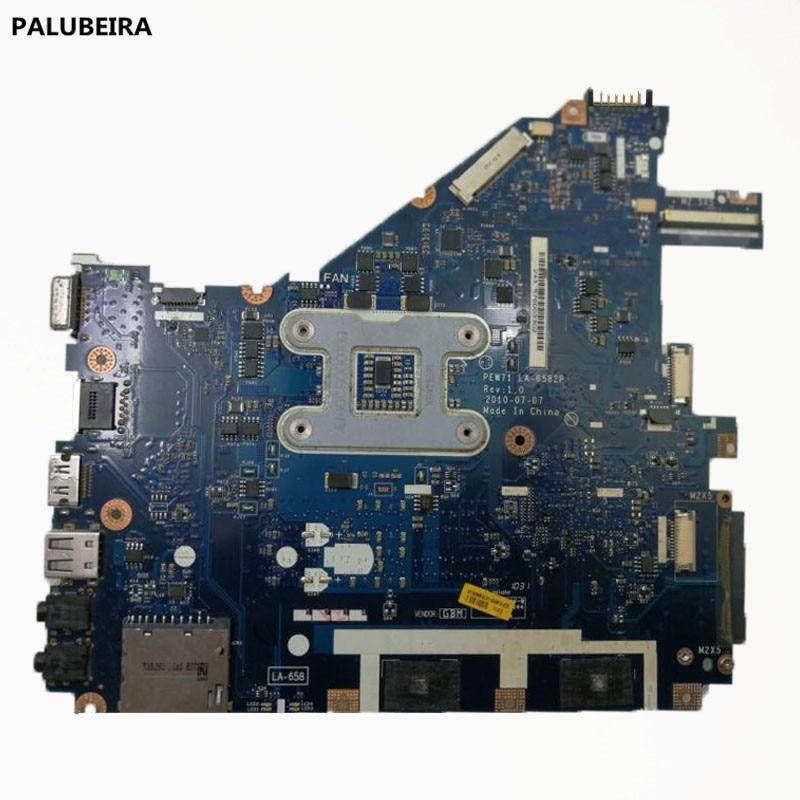 PALUBEIRA para ACER ASPIER 5742 5742Z placa base de computadora portátil LA-6582P MBR4L02001 placa base de buena
