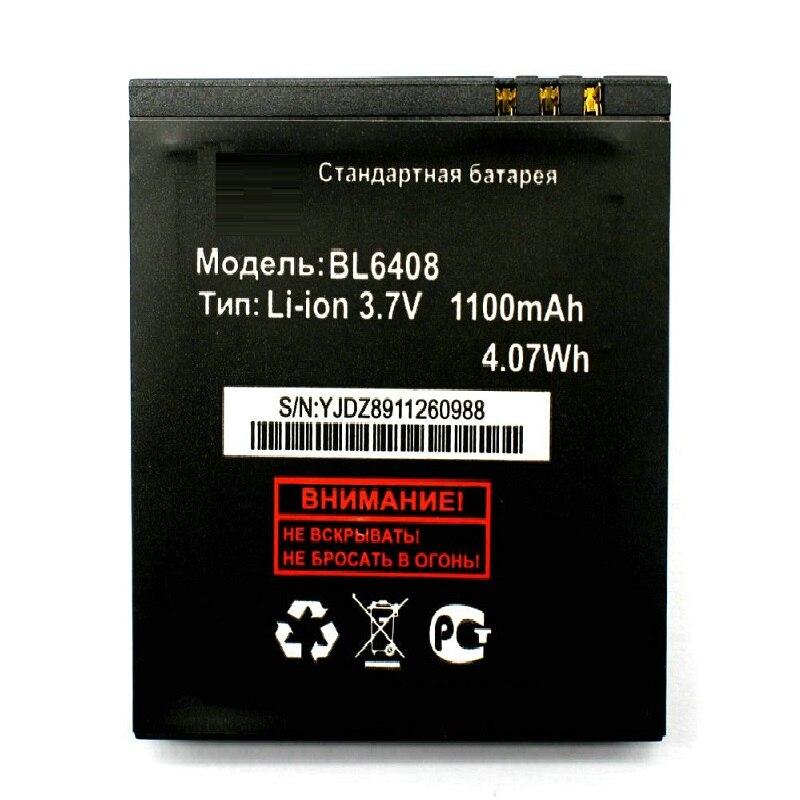 1100mAh BL6408 BL 6408 reemplazo de batería recargable batería para Fly IQ239 acumulador