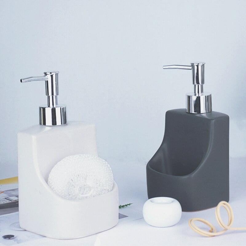 Garrafa de Shampoo Dispensadores de Sabão Garrafas de Emulsão Garrafa de Látex Acessórios do Banheiro Cerâmica Cozinha Líquido Loção Conjunto